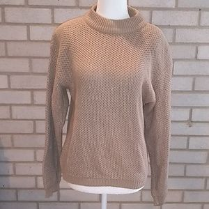 Neiman Marcus Tan Sweater Size S